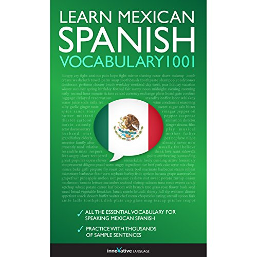 Learn Mexican Spanish - Word Power 2001 cover art