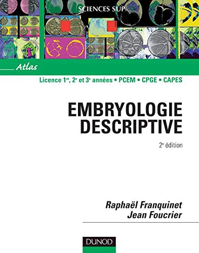 Atlas Dembryologie Descriptive