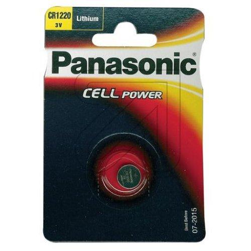 Panasonic pile lithium cR1220L/1BP