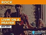 Livin' On A Prayer in the Style of Bon Jovi