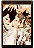 Inga Letrero Retro de 20,3 x 30,5 cm, Estilo Vintage, barbería, Tienda de Belleza y peluquería, decoración de Metal BS