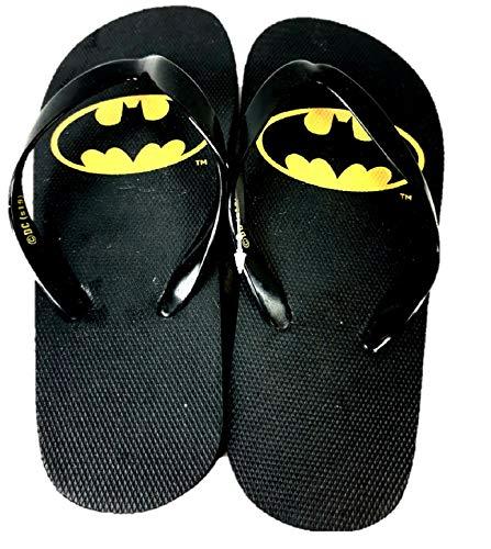 Schwimmschuhe Batman Zehentrenner Badeschuhe Badelatschen Sandalen schwarz Gr. 36/37