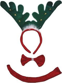 Petitebella 3D Headband Bowtie Tail Unisex Children 3pc Costume