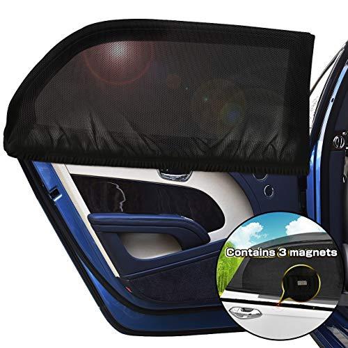 2pcs Auto Fensterläden Autozubehör für Baby Erwachsene Haustiere Tragbare Auto Sonnenschirme 24