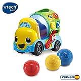 VTech-80-601922 Mixter, camión hormigonera Infantil con más de 75 melodías,...