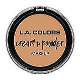 L.A. COLORS Cream To Powder Foundation - Honey Beige
