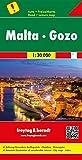 Malta - Gozo, Road Map 1:30,000 (English, Spanish, French, Italian and German Edition)