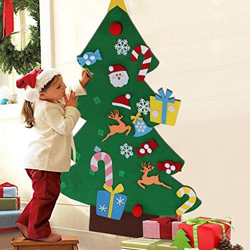 Aytai DIY árbol de Navidad de Fieltro...