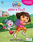 Dora the Explorer - Where is Tico? - Storybook Playset w/ 12 Figures (My Busy Books) by Phidal Publishing Inc. (2010-04-01)