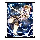 Henanyimeixiang Anime Magique Interdit Livre défilement Mural Affiche Murale Affiche Murale Otaku décor à la Maison 40x60 cm avec Crochet B
