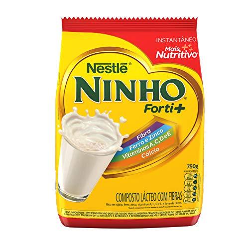 Composto Lácteo, Nestlé, Ninho Forti+, Pacote, 750g