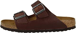 Arizona Vintage Men's Leather Sandal Wood Roast