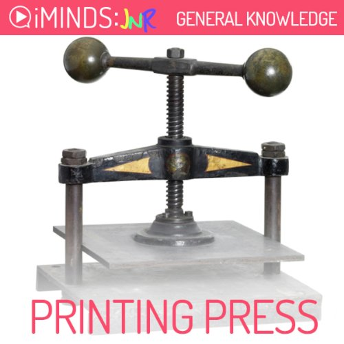 The Printing Press audiobook cover art