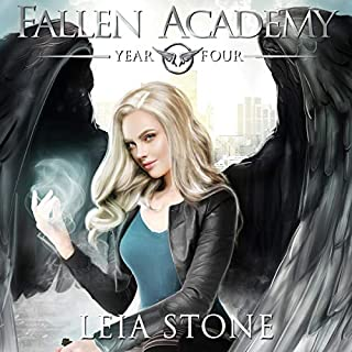 Fallen Academy: Year Four                   Written by:                                                                                                                                 Leia Stone                               Narrated by:                                                                                                                                 Vanessa Moyen                      Length: 5 hrs and 52 mins     3 ratings     Overall 4.7
