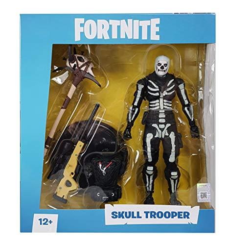 Fortnite - Figura articulada Skull Trooper 18cm 6
