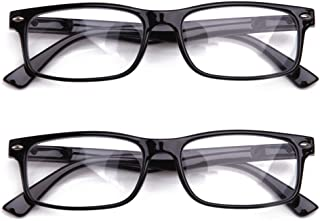 44b9186f614a Newbee Fashion - Unisex Translucent Simple Design No Logo Clear Lens Glasses  Squared Fashion Frames