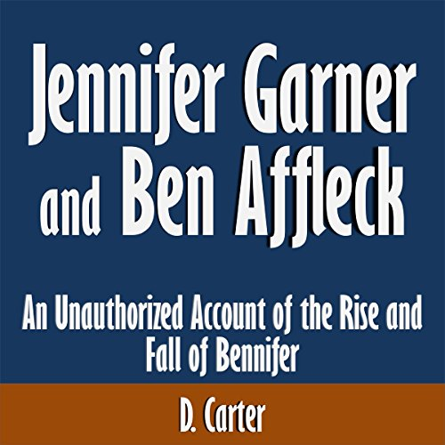 Jennifer Garner and Ben Affleck audiobook cover art