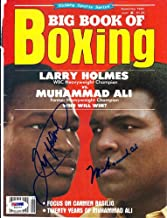 Muhammad Ali & Larry Holmes Autographed Magazine Cover PSA/DNA #S01579