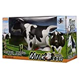 PLAY DESIGN A1 New Battery Operated Walking Cow Light and Sound Toy