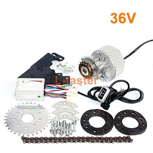 450W neueste elektrische Fahrrad-linke Antriebs-Umwandlungs-Installationssatz kann die meisten der üblichen Fahrrad-Gebrauch-Speichen-Kettenrad-Ketten-Antrieb für Stadt-Fahrrad passen (36V Thumb Kit)