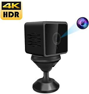Beenwoon Wi-Fi Hidden Camera 4K Full HD App Live Video Remote View, Motion Detection Alerts - Spy Nanny Cam