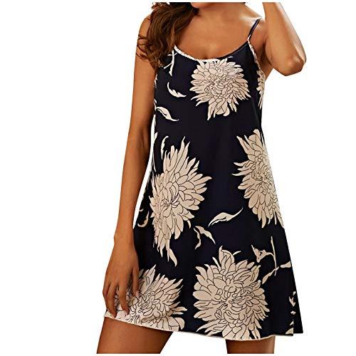 Sexy Nachtwäsche Schwarz Sexy Nachtwäsche Transparenter Schlafanzug Pyjama Set Damen Kurz Unterwäsche Frauen Sexy Set Damen Pyjama Sexy Damen Schlafanzug (Navy,XL)