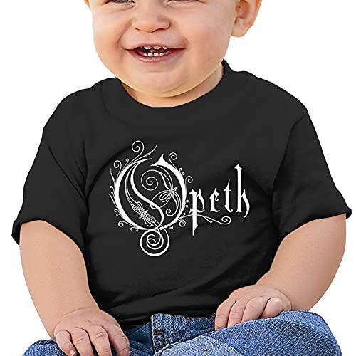 QUZtww Maglietta per bebè Opeth Sports T-shirt in cotone a maniche corte per neonato e bambina