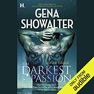 The Darkest Passion audiobook cover art