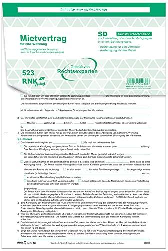 Rnk Verlag 3x2 Rnk Universale per appartamenti sd lama a4, 10 pezzi