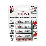 Fujitsu Wiederaufladbare Akku (4X AA) weiß