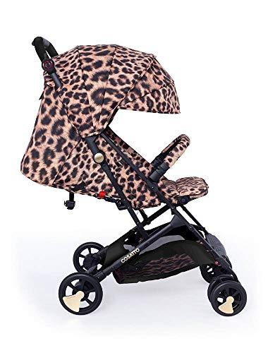 Cosatto Paloma Faith Woosh Pushchair – Ultra Lightweight Stroller From Birth to 25kg - One Hand Easy Fold (Hear Us Roar)