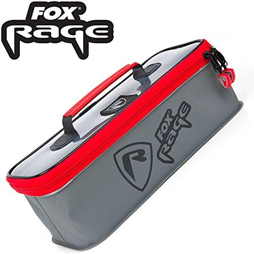 Fox Rage Voyager Welded Bag Large 30,5x13x10,5cm- Angeltasche zum Spinnangeln, Tackletasche zum Raubfischangeln, Tasche zum Angeln