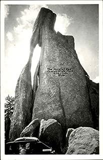 The Needles Eye Custer State Park Scenic South Dakota Original Vintage Postcard