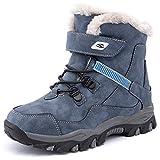 HOBIBEAR Kids Snow Boots Boys Girls Winter Boots Outdoor Warm Shoes...