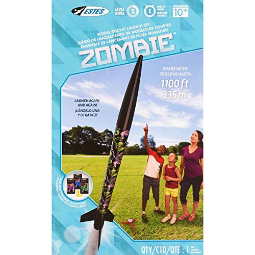 Estes Zombie Flying Model Rocket Launch Set Kit