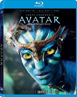 Avatar (Limited 3D Edition) [Blu-ray 3D + Blu-ray + DVD] (Bilingual) (B008R9H05Y) | Amazon price tracker / tracking, Amazon price history charts, Amazon price watches, Amazon price drop alerts