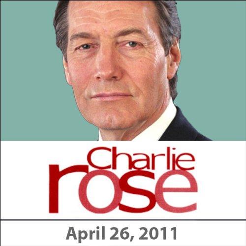 Charlie Rose: Robert De Niro, Jane Rosenthal, Robert Malley, and Karl Gerth, April 26, 2011 audiobook cover art