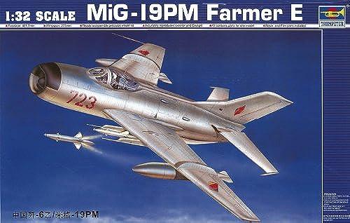 Trumpeter 02209 Kit de modélisation MiG-19 PM Farmer E Shenyang F-6B