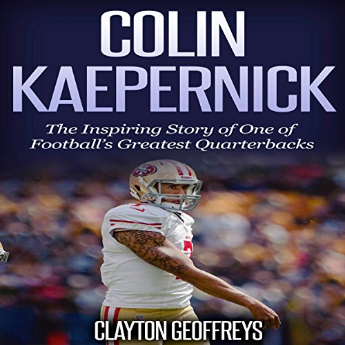 Colin Kaepernick audiobook cover art
