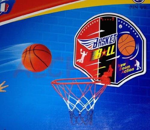 DC Canestro da Basket per Camera 22cm + Palla + Pompa