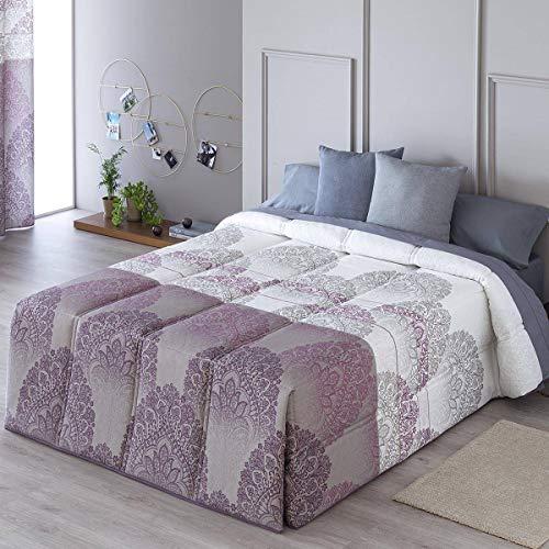Confecciones Paula - Edredón conforter LUGO - Cama 160Cm - Color Lila
