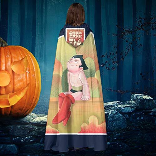 AISFGBJ Astroboy - Disfraz de Bruja con Capucha Unisex para Halloween