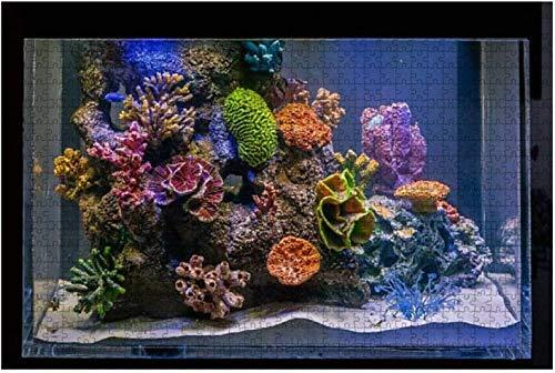 Hummer Unterwasser Marine Aquarium Fische Stock Bilder, Royalty Large 500 Stück Puzzles für Erwachsene Lernspielzeug für Kinder Kreative Spiele Unterhaltung Holzpuzzles Home Decor-PUZZLE2