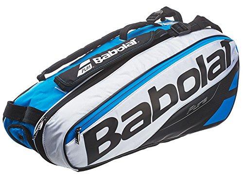 Babolat Racket Holder X 6 Pure Schlägertasche, Weiß, 68 x 40 x 20 cm