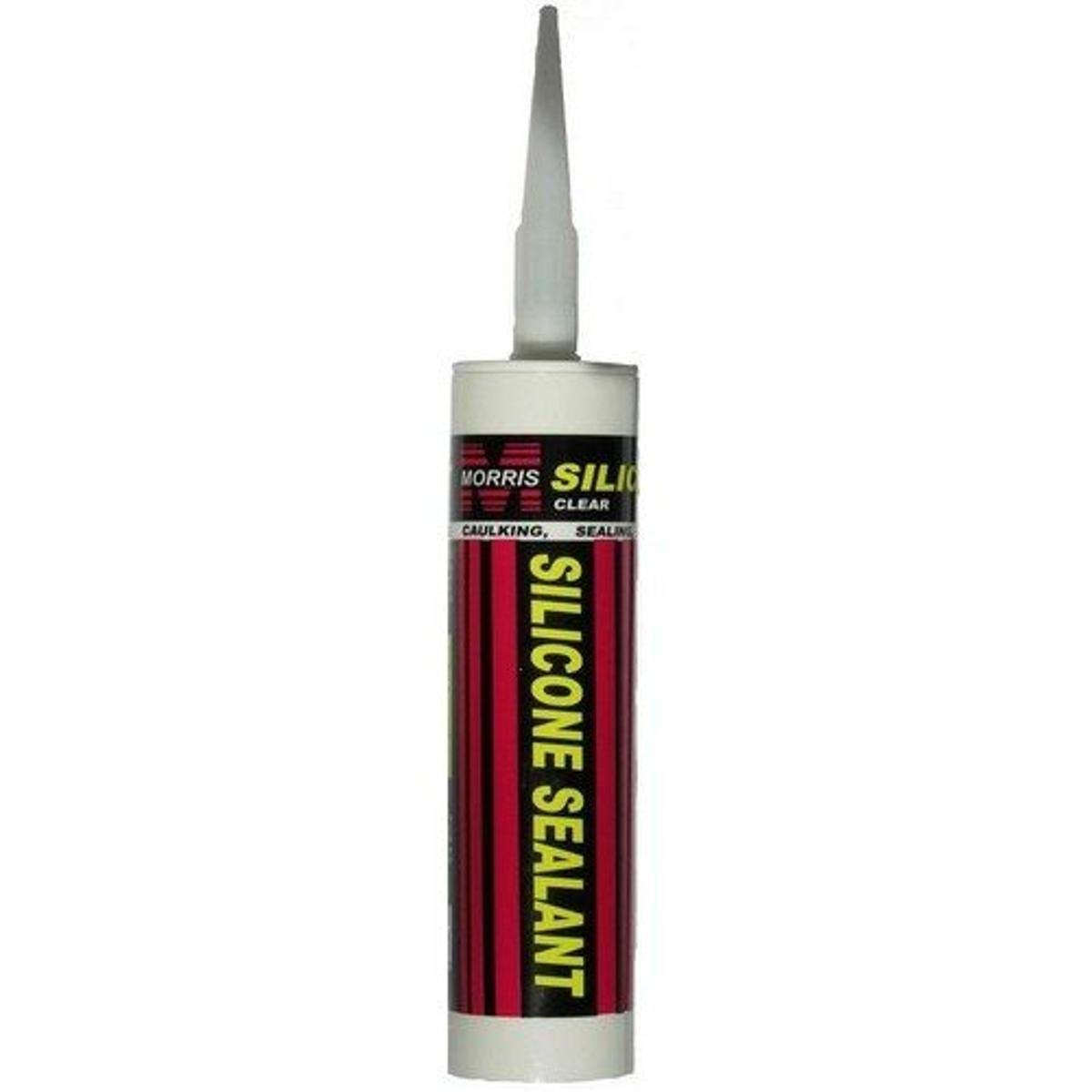 Morris 99913 Silicone Sealant Silver Today's only Tube 10.3 Sale Special Price fl. oz.