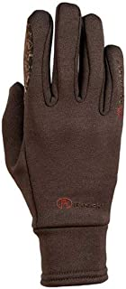 Roeckl Polartec Everyday Riding Glove 6 inches brown