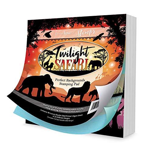 Hunkydory Crafts Stempelkissen Twilight Safari