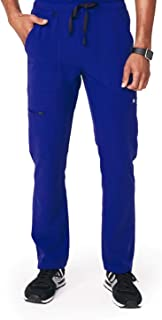 Cairo Cargo Scrub Pants for Men – Relaxed Fit, Super Soft Stretch, Anti-Wrinkle Medical Scrub Pants