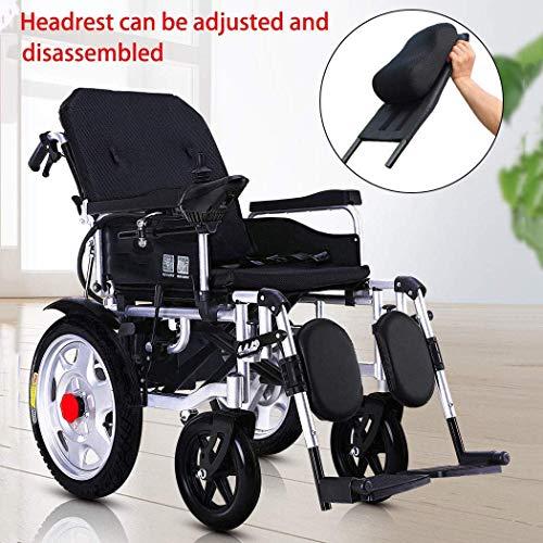 XSARACH De elektrische rolstoel kan gemakkelijk worden opgevouwen, bespaart elektrische step en kan plat in een compacte elektrische rolstoel worden opgeborgen.