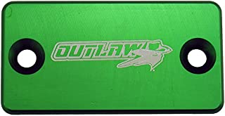 Outlaw Racing Billet Front Brake Cap (Green)